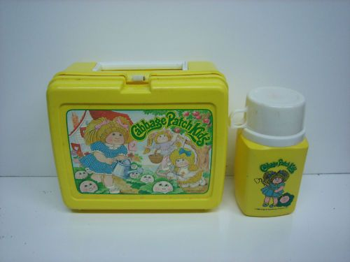 1983 Cabbage Patch Kids Plastic Lunchbox W Thermos Cabbage Patch Kids My Childhood Memories Toys R Us Kids