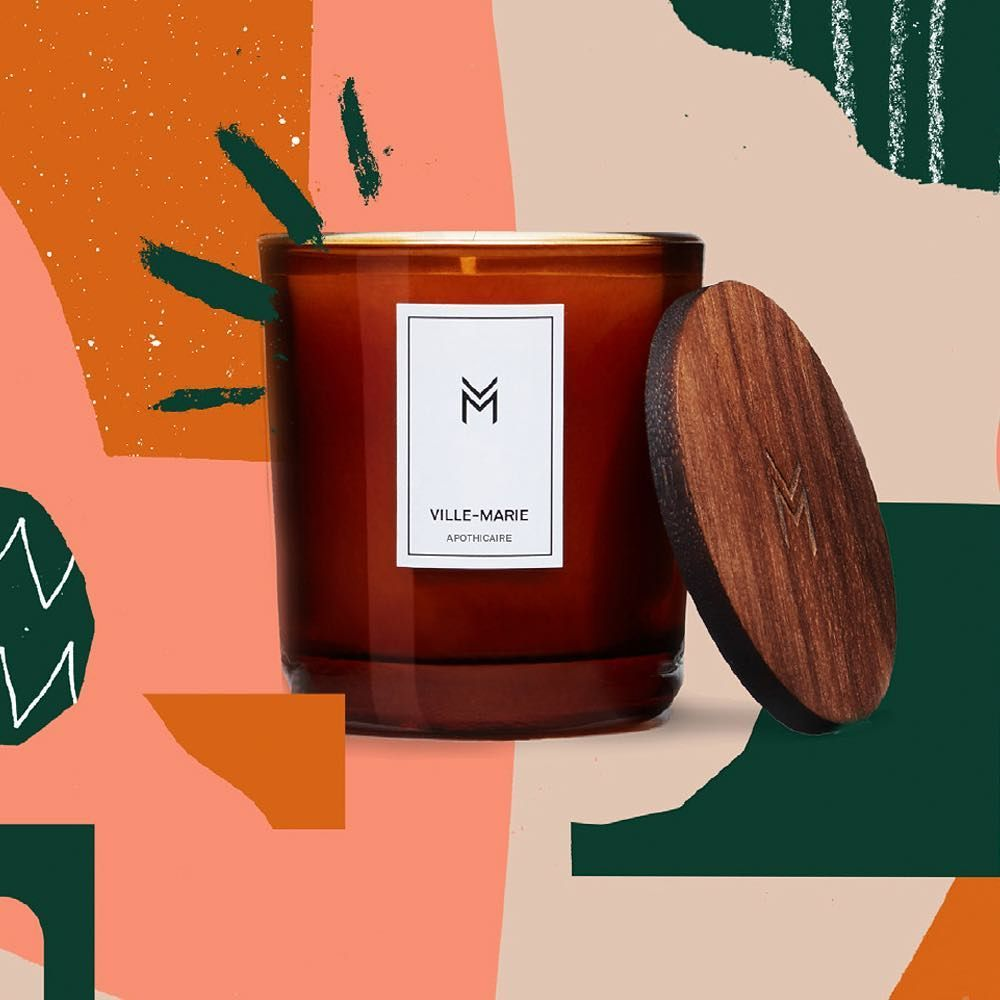Congrats To Amelie Lehoux Amelehoux She S Our Next Tdk Award 17 Winner Amelie Is A Design Grad Of Uqam All Candle Packaging Design Business Card Branding