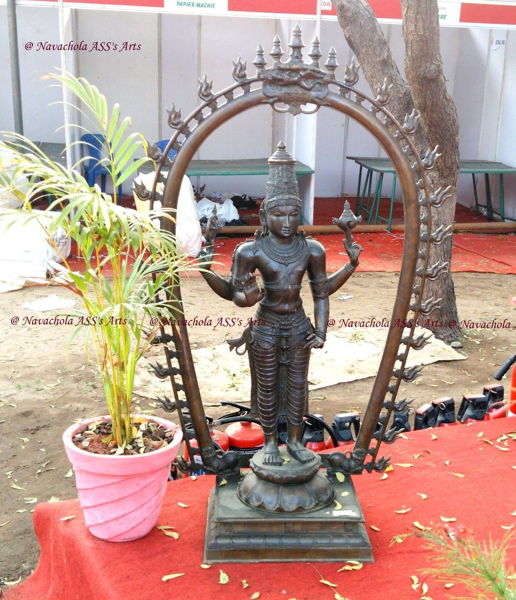 Cast In Bronze, Lord Hanuman Bronze icon. For more details