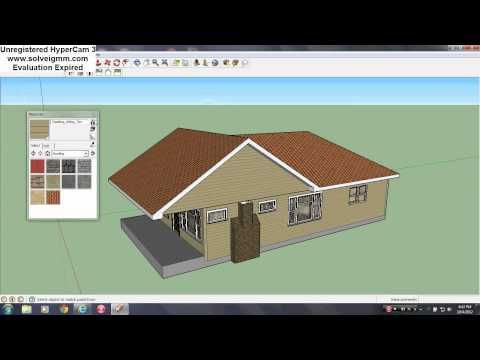 Google Sketchup Speed Building Modern House Youtube House