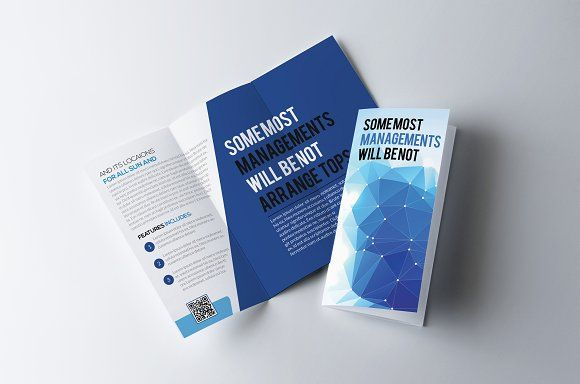 Business Trifold Brochure Template by Business Flyers on - flyers and brochures templates