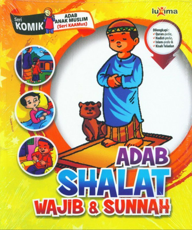 download ebook seri komik adab anak muslim adab shalat