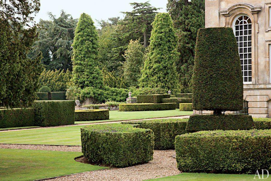 Easton Neston Reborn Urban Garden Decor Topiary Garden
