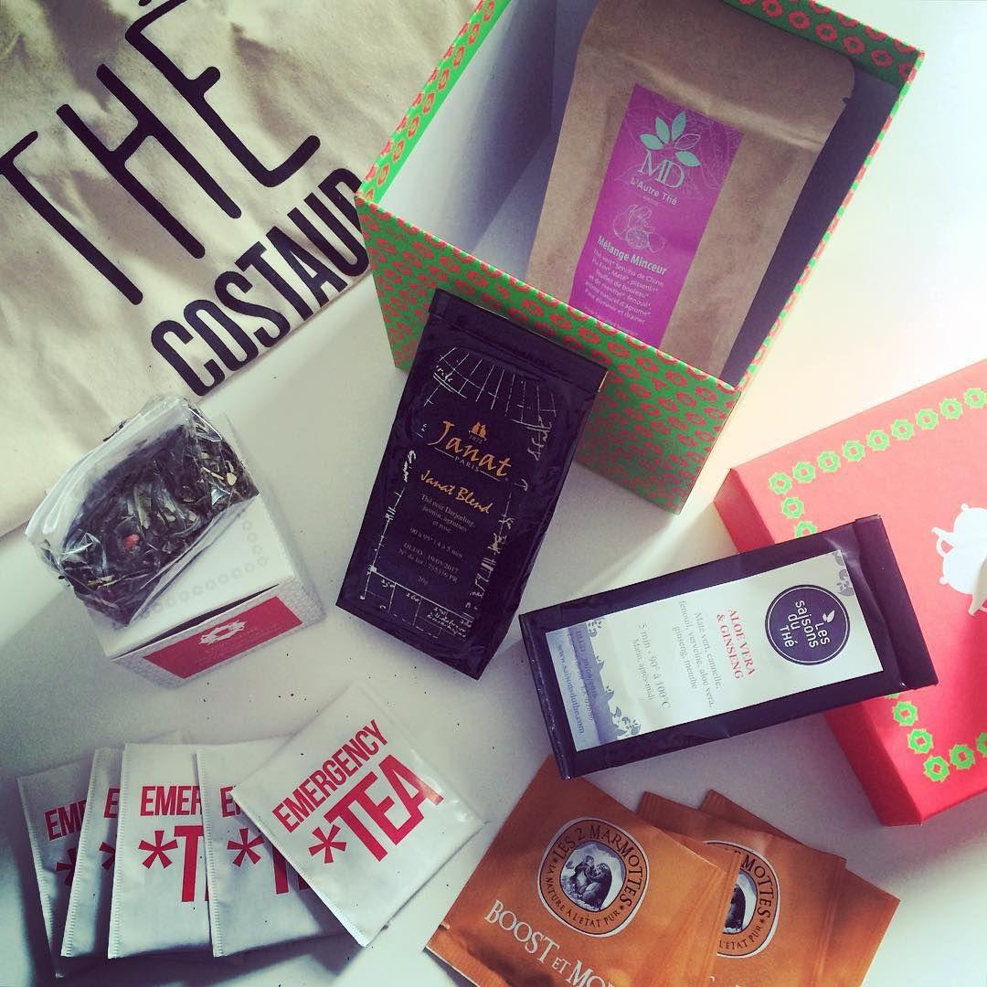 @pillpa / Aujourd'hui dans ma boîte aux lettres... Ma box #envouthébox !! Elle est belle, sent bon et en plus elle #boost ! Alors là je suis #ravie  #conquise #envouthé