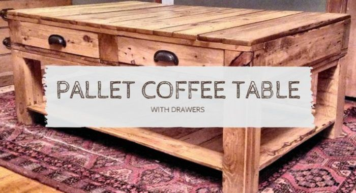 Diy Easy & Cheap Pallet Coffee Table images