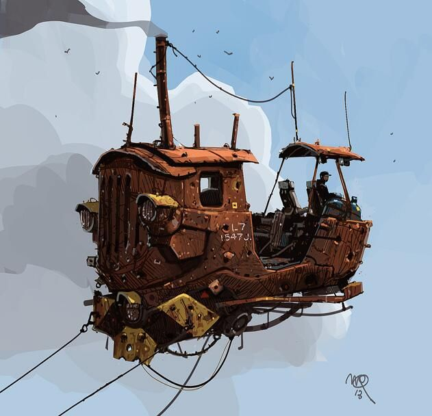 Digitalrevolution Blog Retro Sci Fi: Desenhos, Ilustração, Esboço