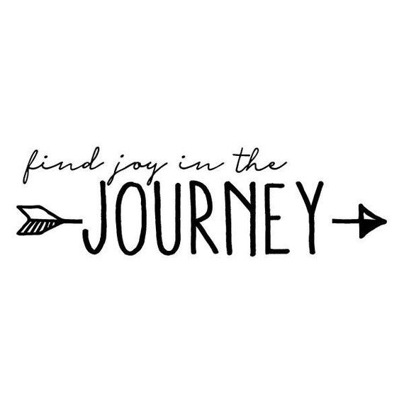 Find Joy In The Journey, Wall Quotes Vinyl Decal, Travel
