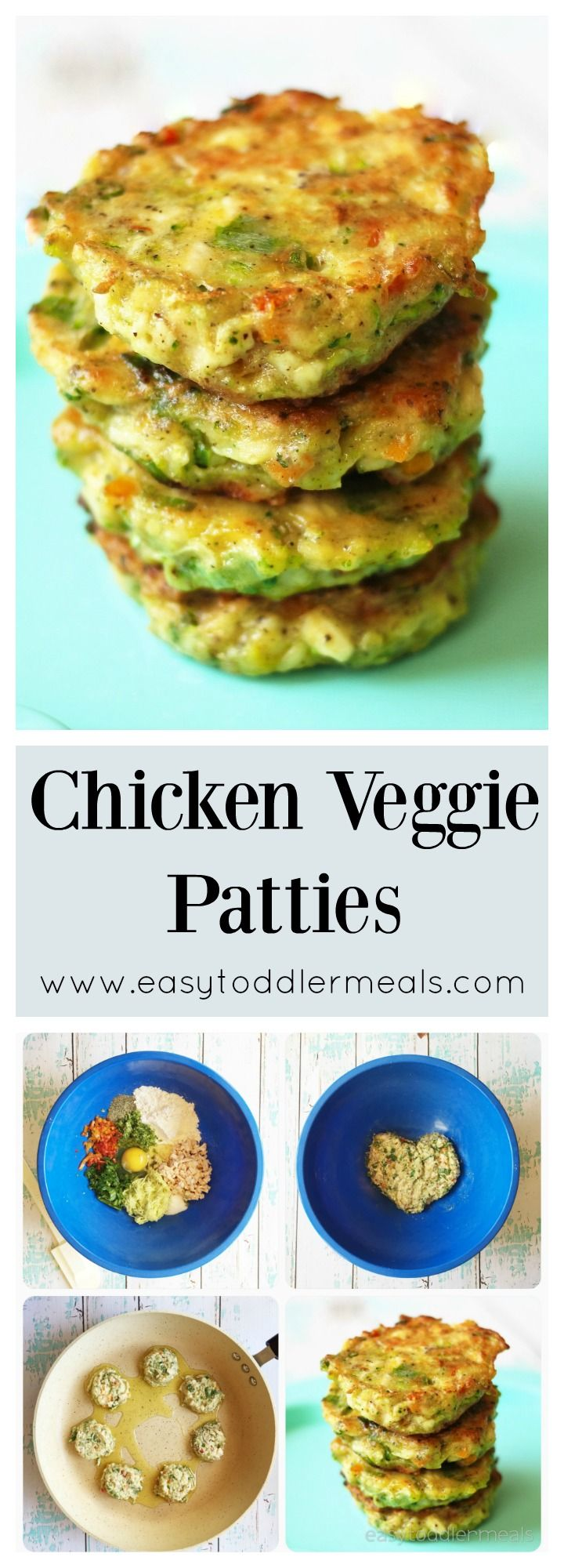Packed With Lots Of Veggies But Comes Close To A Chicken Nugget Veggie Patties Baby Food Recipes Kids Meals