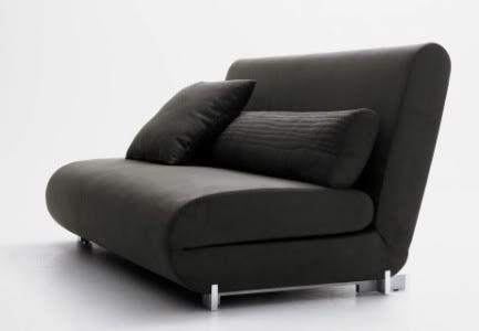 Mobiliario de descanso. Sofá-cama dos plazas para los salones de ...