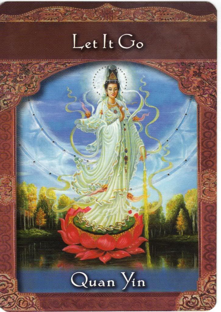 Quan yin let your pain go quan yin pinterest ascended ascended masters oracle cards lady master quan yin let it go compassion thecheapjerseys Gallery