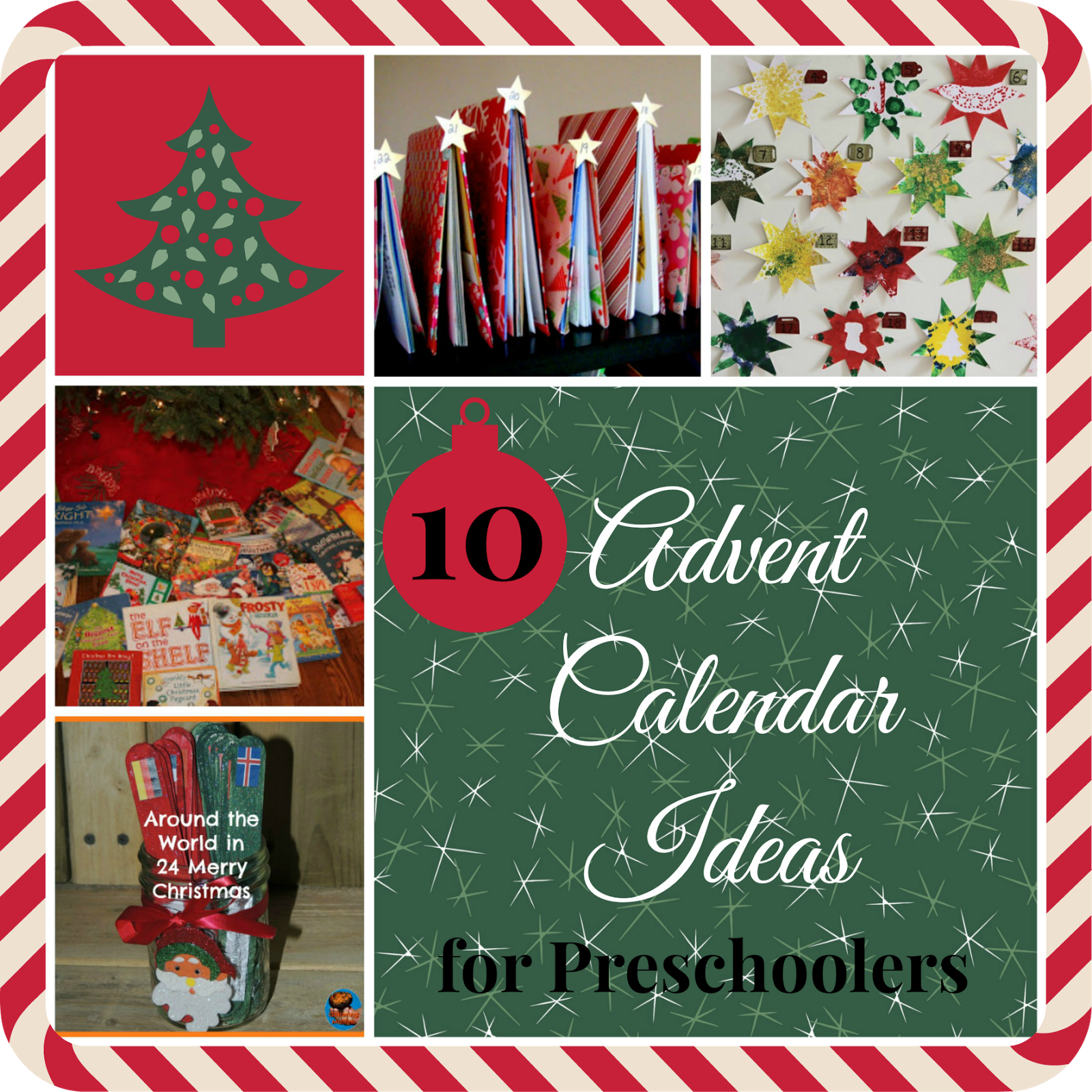 10 Christmas Advent Calendar Ideas For Preschoolers Christmas Advent Calendar Christmas Advent Kids Christmas