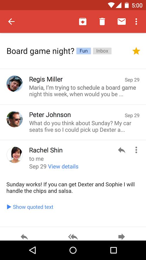 Gmail screenshot App, Best free email, Board game night