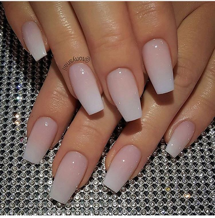Coffin Nails Natural Nails Unghie Idee Unghie Unghie Gel