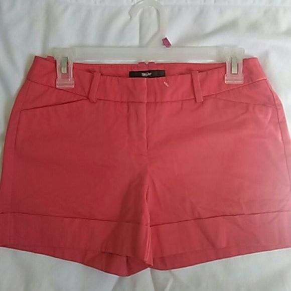 Short Peach Orange Short Shorts