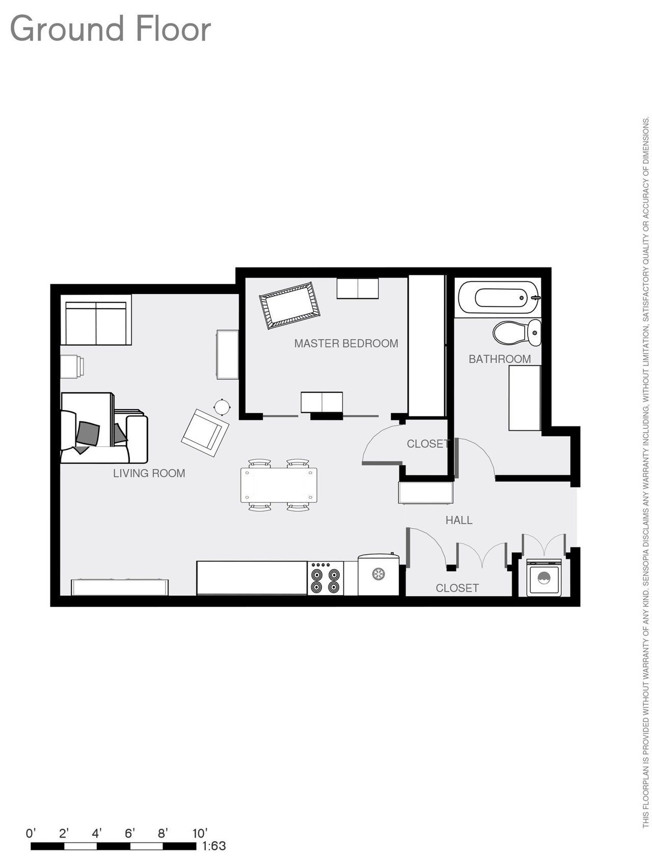 Studio Apartment With Baby alison, trevor and a baby in 600 square feet - nice 1-bedroom