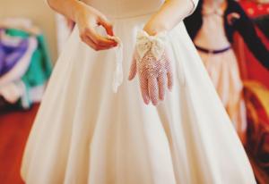Vintage Crochet Glove Wedding