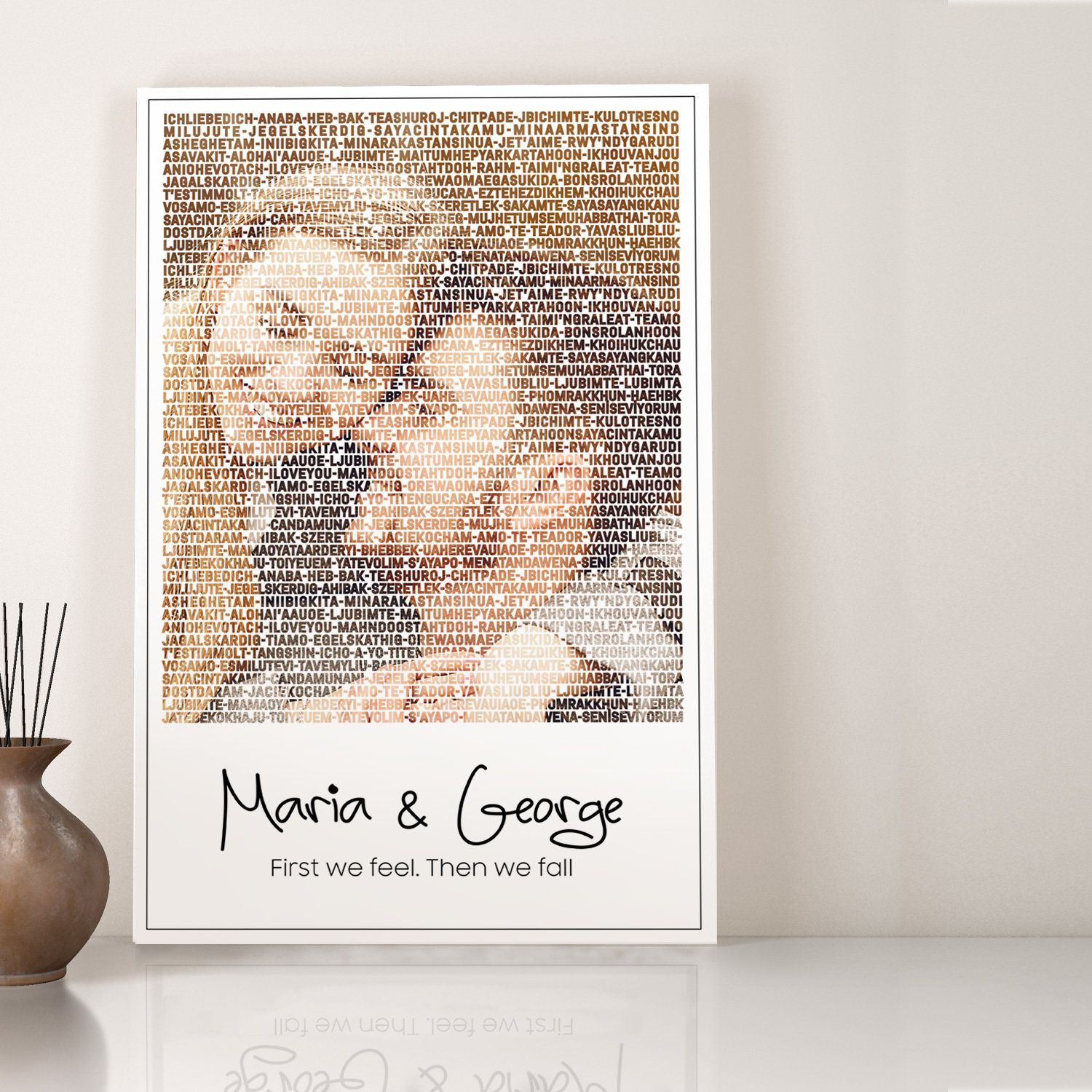 Custom Canvas Photo Gift For Her 2nd Anniversary Gift Photo Etsy In 2020 Canvas Photo Gifts Painting Gift Canvas Gift