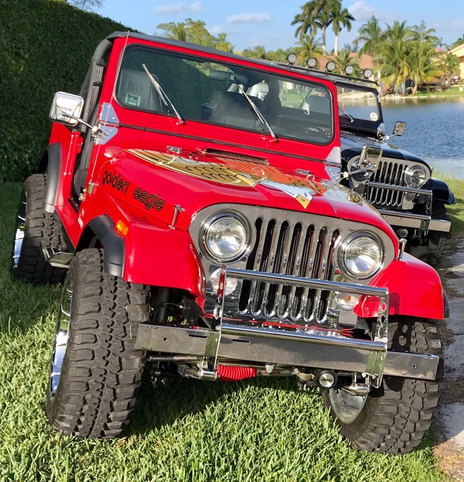 Ebay 1978 Jeep Cj Cj7 1978 Jeep Cj7 Golden Eagle Jeep Jeeplife