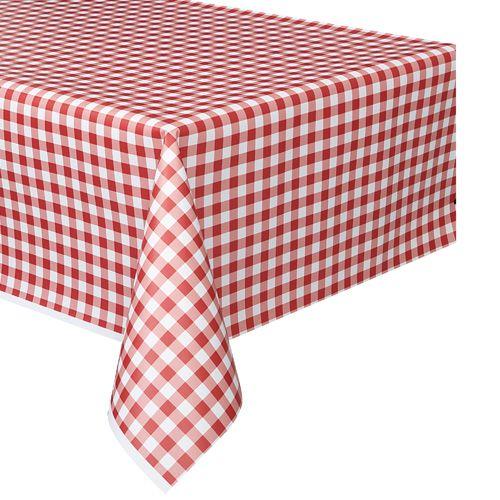 Un mantel de pl stico con dise o de cuadritos ideal para fiestas vintage o fiestas picnic de - Mantel plastico ...