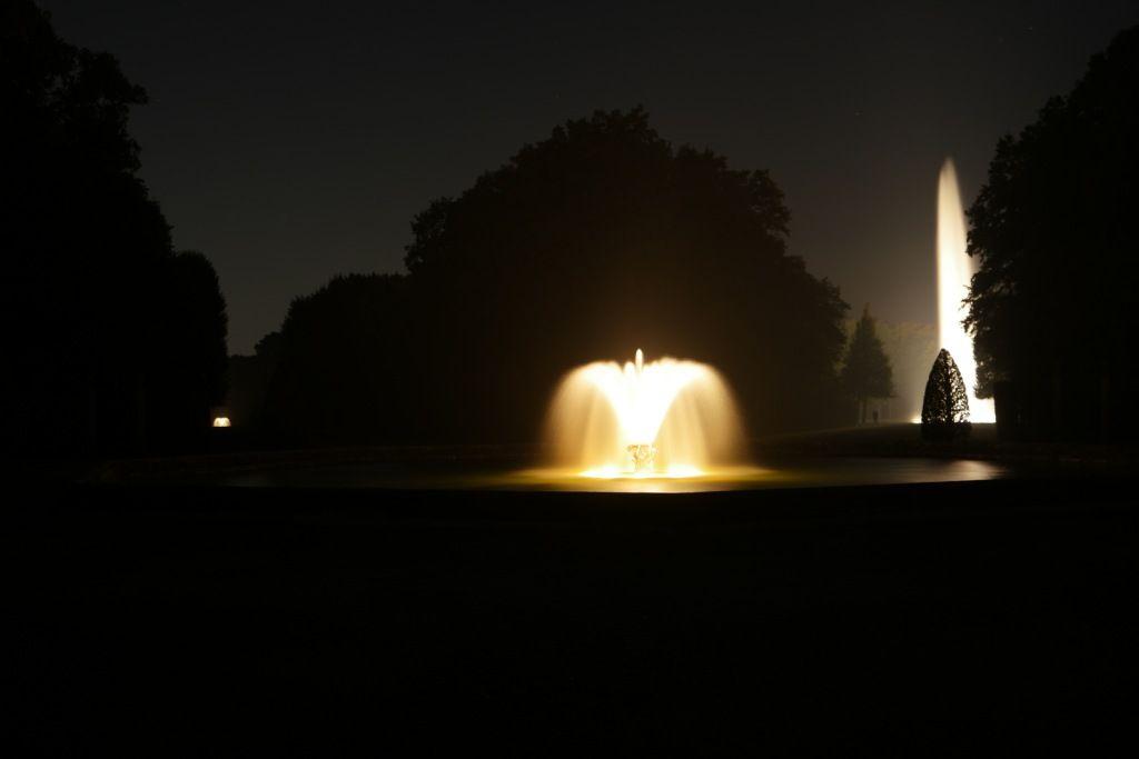 Fontänen Anlässlich Der Illumination In Den Herrenhäuser Gärten