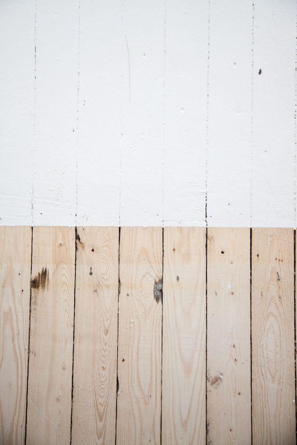 Cottage Reno At Kitka Design Toronto Pine Wood Texture Flooring White Painted Floors