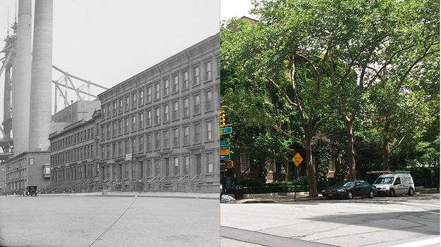 Awesome Then & Now Photos Of New York City: Sutton Place