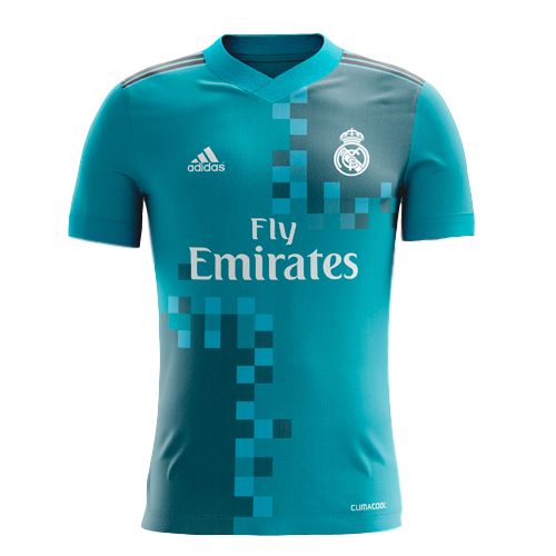 bd7f5a65e ... soccer as well. 17 18 adidas Real Madrid Third Jersey
