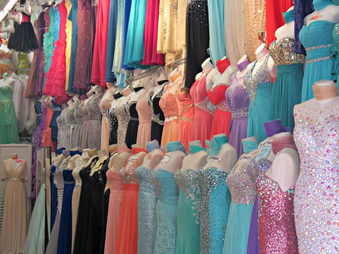Know where to shop for prom, use the LA Fashion District 2014 Prom ...