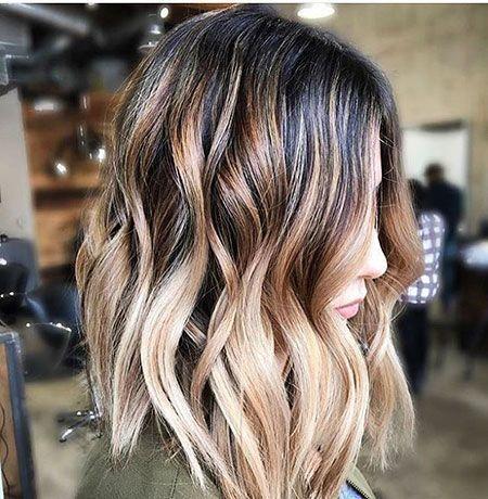 Ombre Hair Color Ideas #ombrebobhair #mittellangeröcke