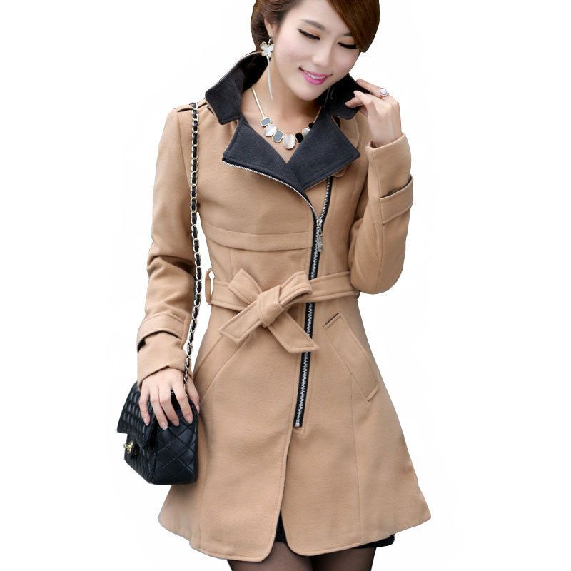 New-2015-women-s-woollen-coat-women-long-wool-winter-coats-red ...