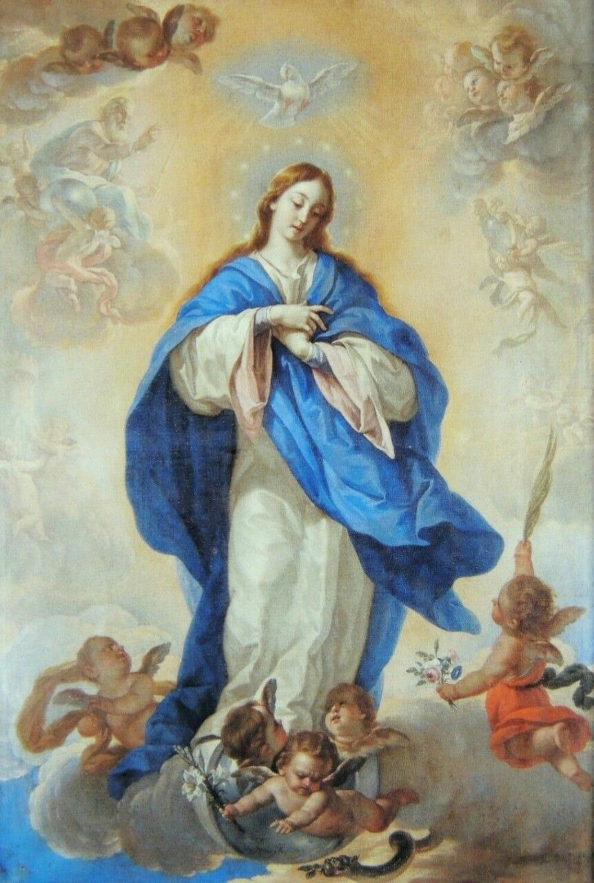 The Immaculate Conception in the cathedral of Palencia, Spain.