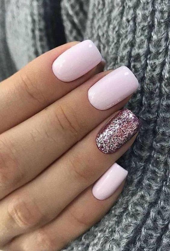 Photo of 66 Natural Summer Nails design for short square nails – nails – nails nails #nails – nails