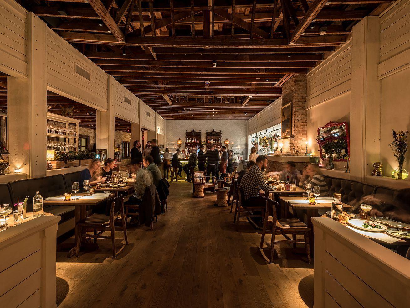 LA's large restaurant dining rooms face unique challenges