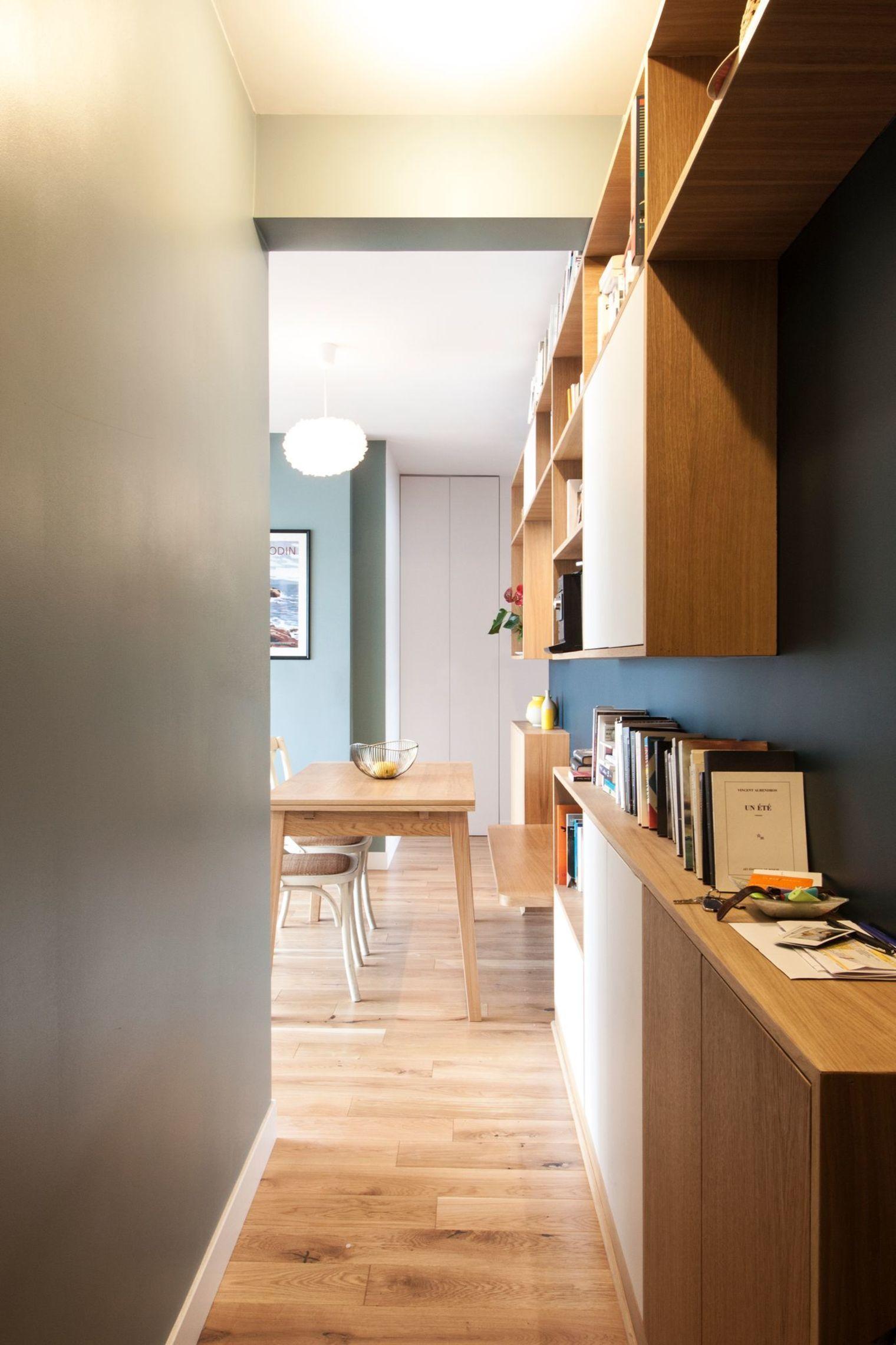 Appartement Duplex Paris Renove Par Un Architecte Appartement