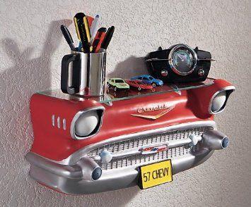 Amazon.com: GM '57 Chevy Wall Shelf: Home & Kitchen