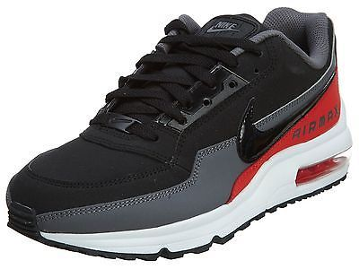 """promo code d85e9 73f7c ... Crimson"""" Available Nike Air Max Ltd 3 Mens 687977-060 Grey Black Red  Running Shoes Sneakers Size . ..."""