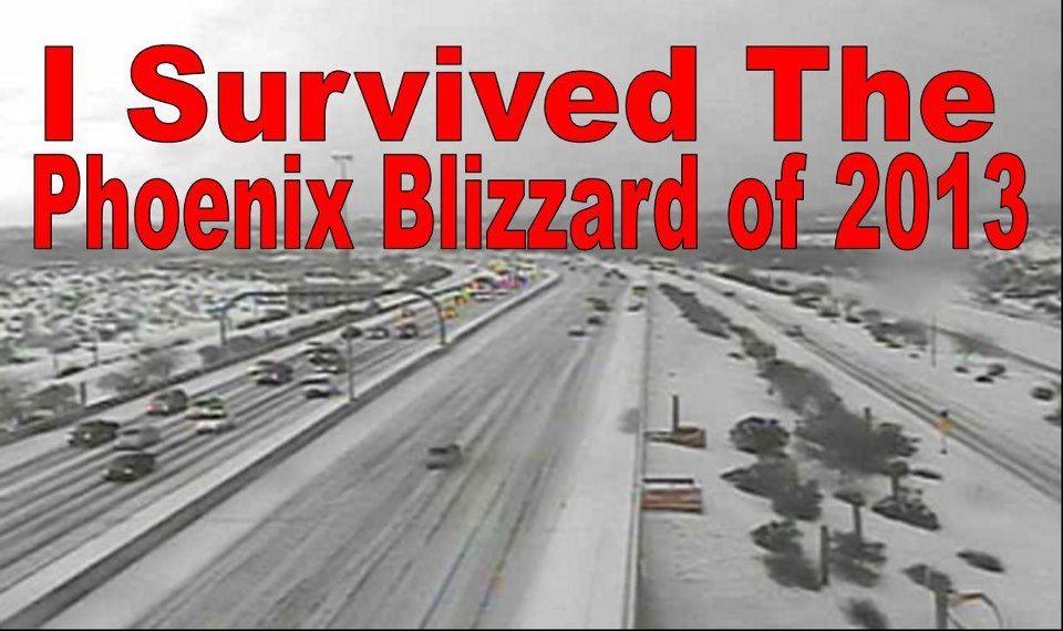 Snow in AZ is terrifying.