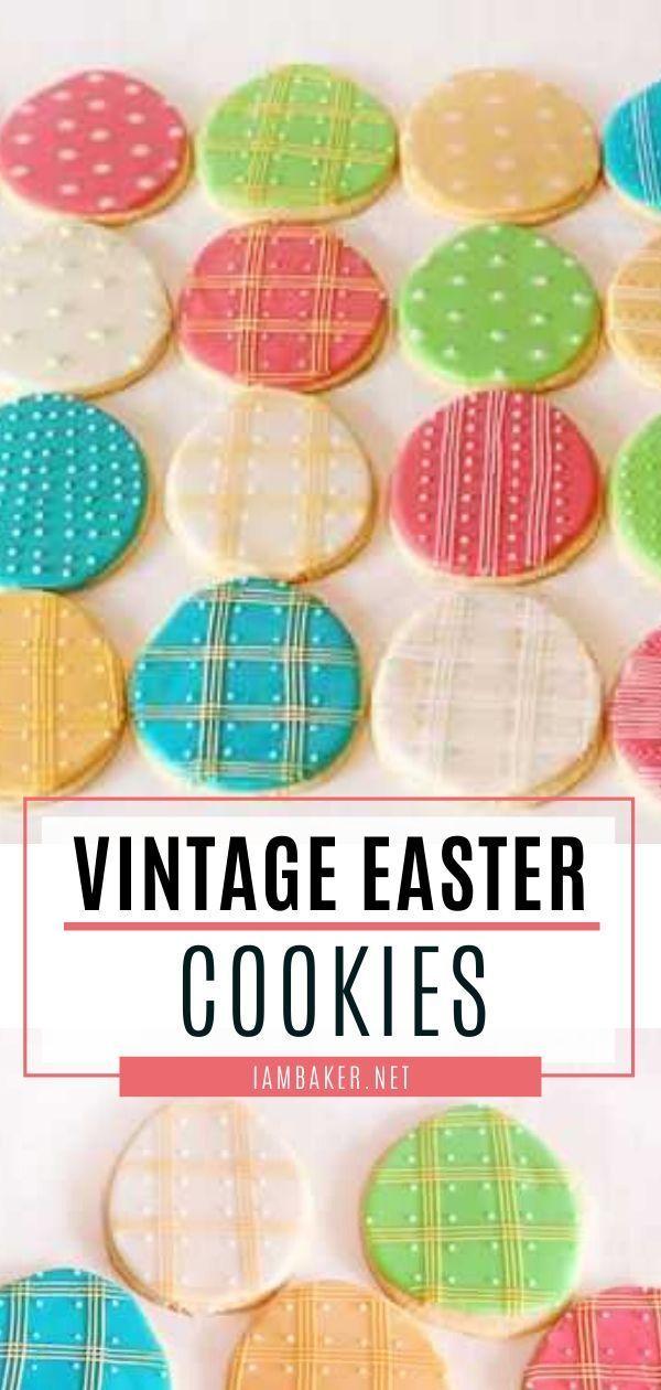 Photo of Vintage Easter Cookies