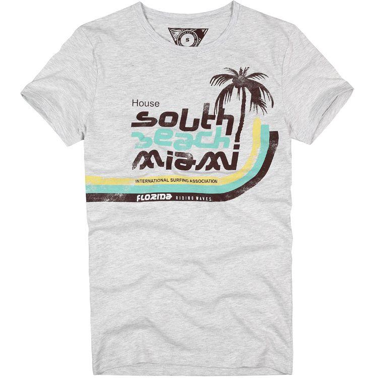 eab5198a Miami t-shirt   dope shirts   T shirt, Dope shirt, Mens tops