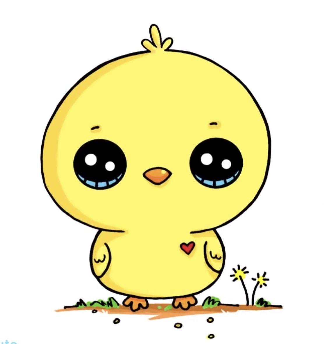 Pin By Sara On Drawing Cute Animal Drawings Kawaii Cute Little Drawings Kawaii Doodles