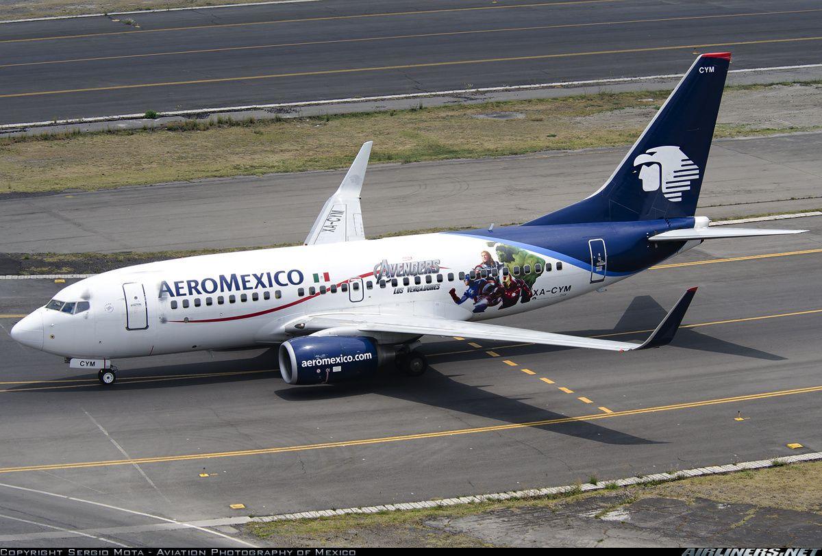 AeroMexico XA-CYM Boeing 737-752 aircraft picture | Air - Boeing 737 ...