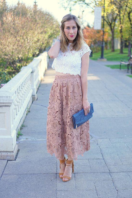 Blush Pink Floral Maxi Skirt | Velvet & Vino. | Pinterest | Floral ...