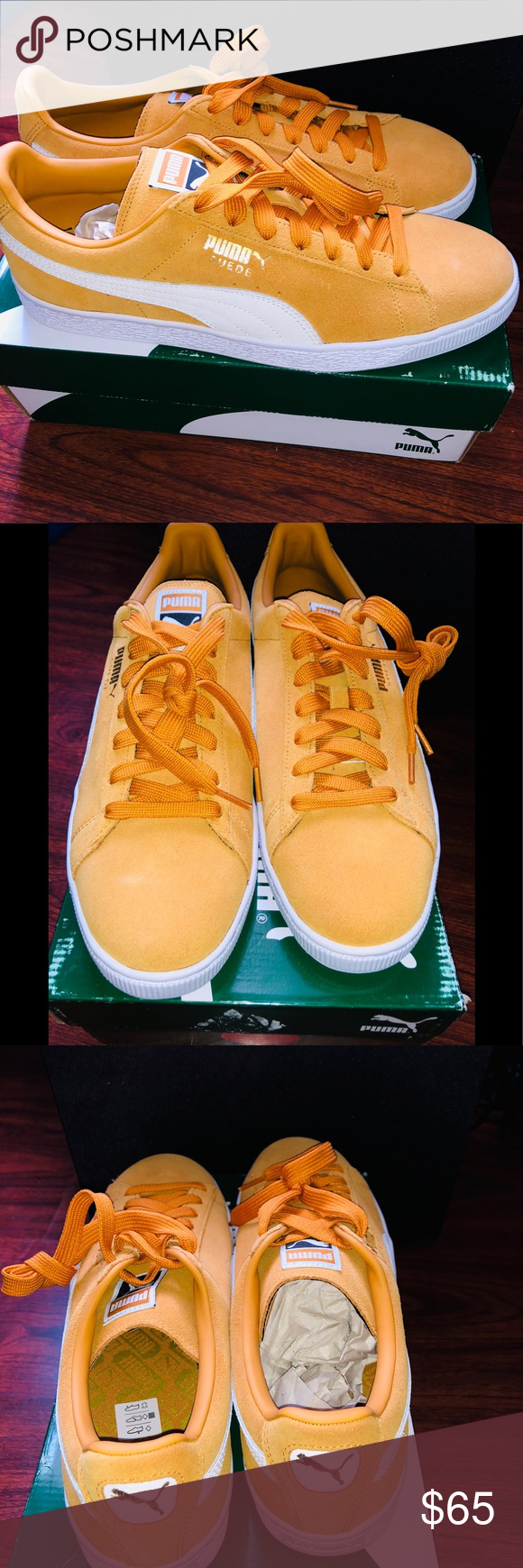 check out 62671 ef6be Puma Suede Classic Puma Suede Classic Color is Gold New ...
