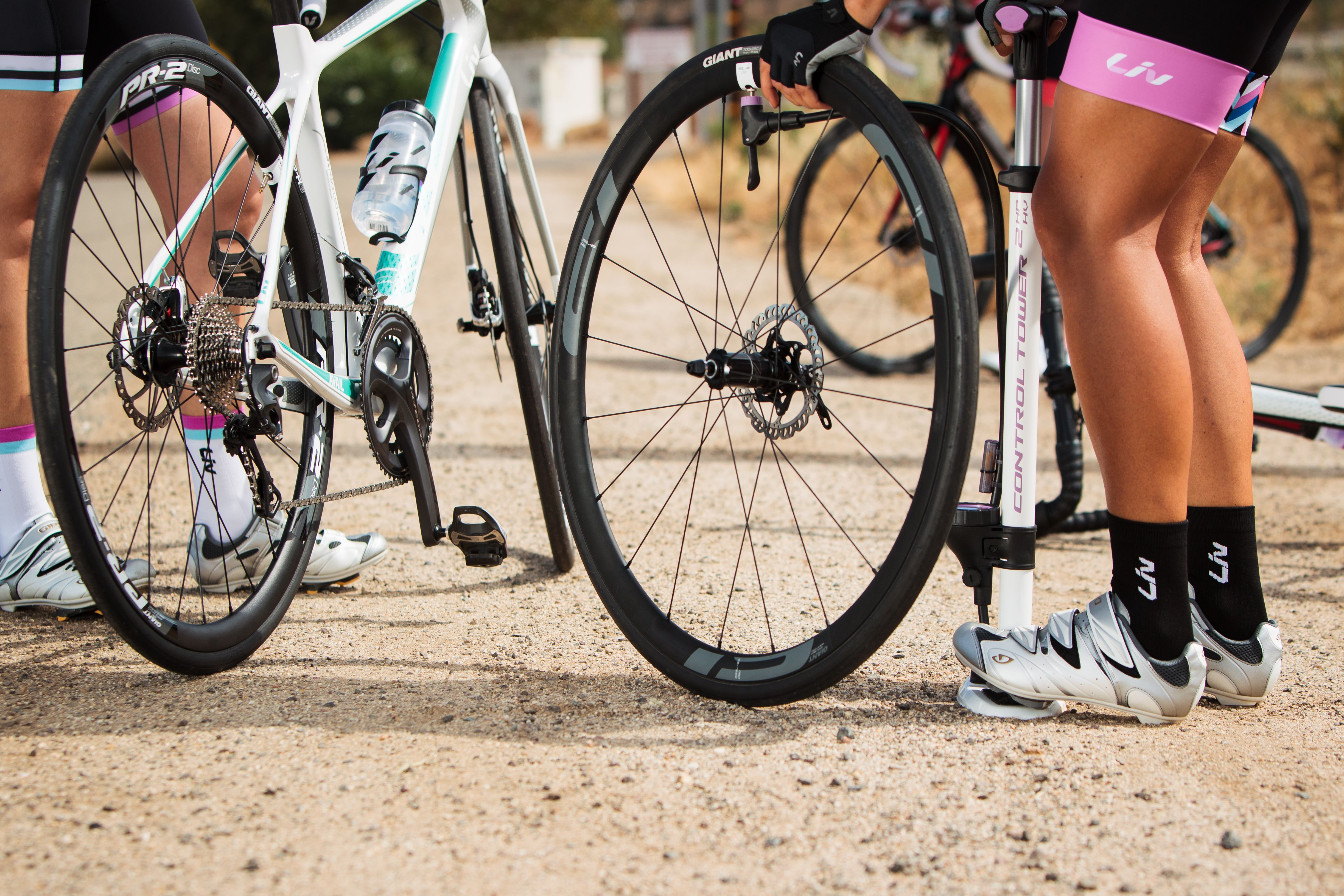 Diy How To Fix A Flat Tire Step By Step Guide So You Can Be Independent On Your Ride Liv Cycling Biking Diy Tire Steps Cycling