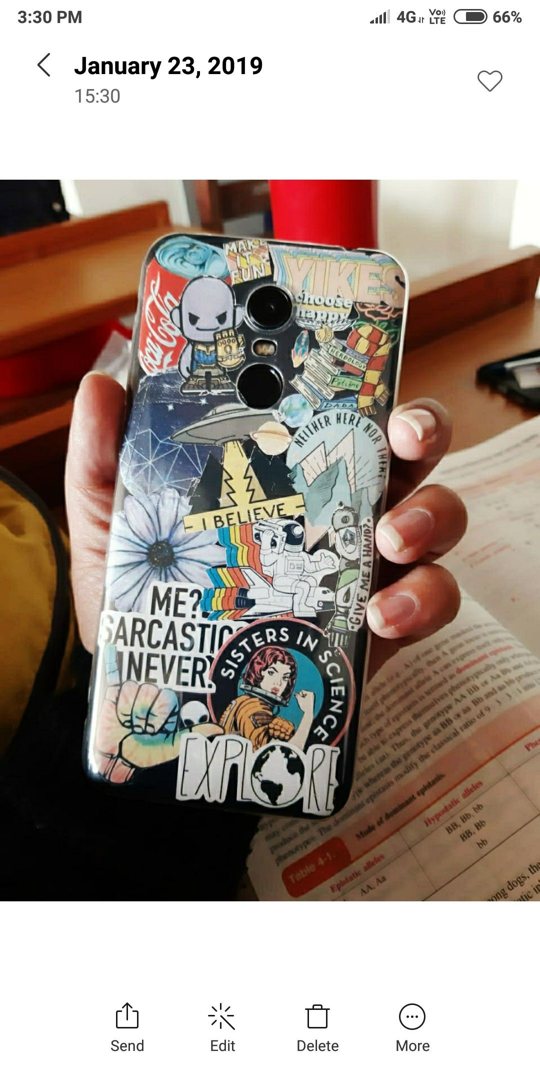 Print Out Stickers And Create A New Phone Case Diy Phone Case