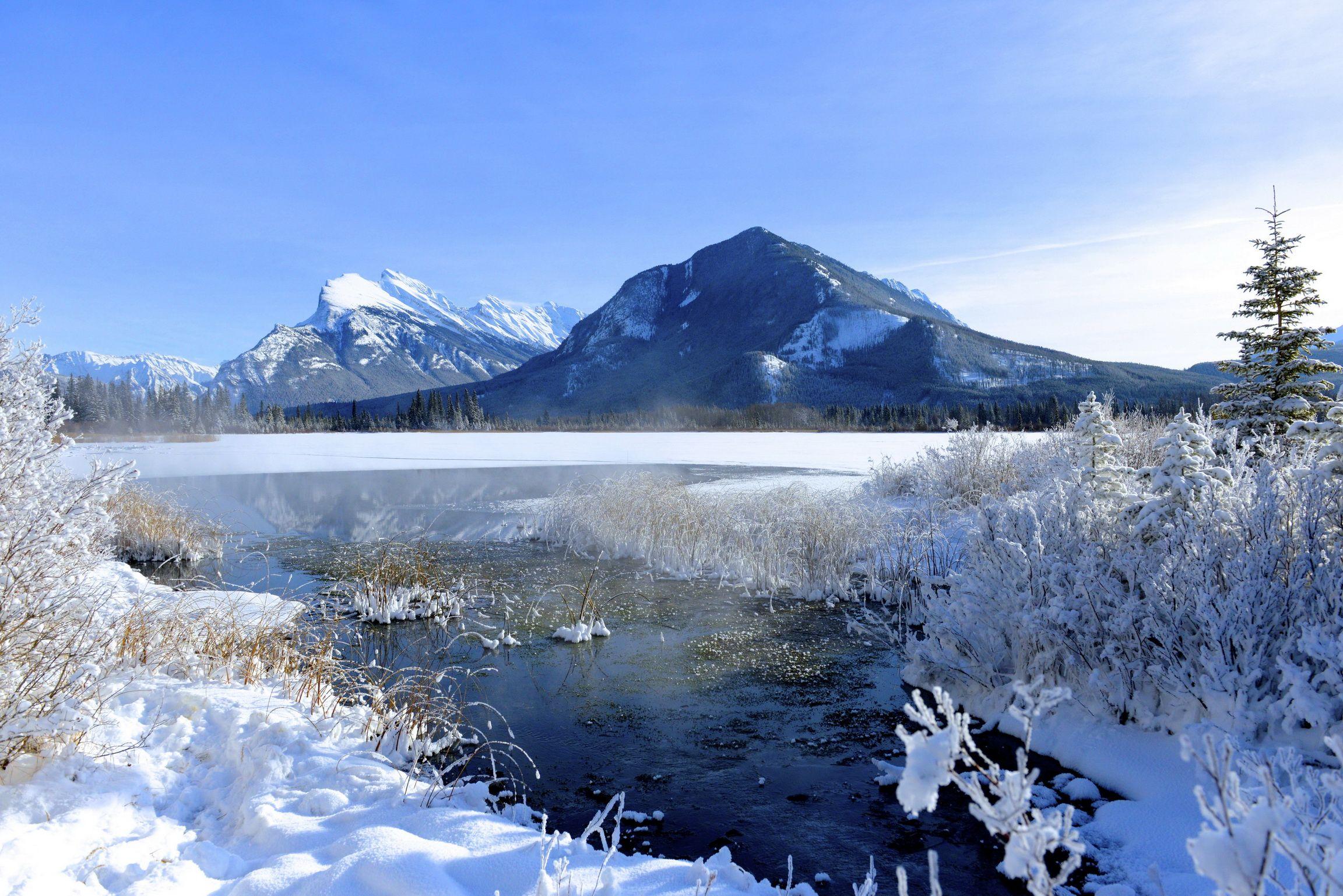 Landscapes winter mountains wallpaper   2304x1538   37850   WallpaperUP
