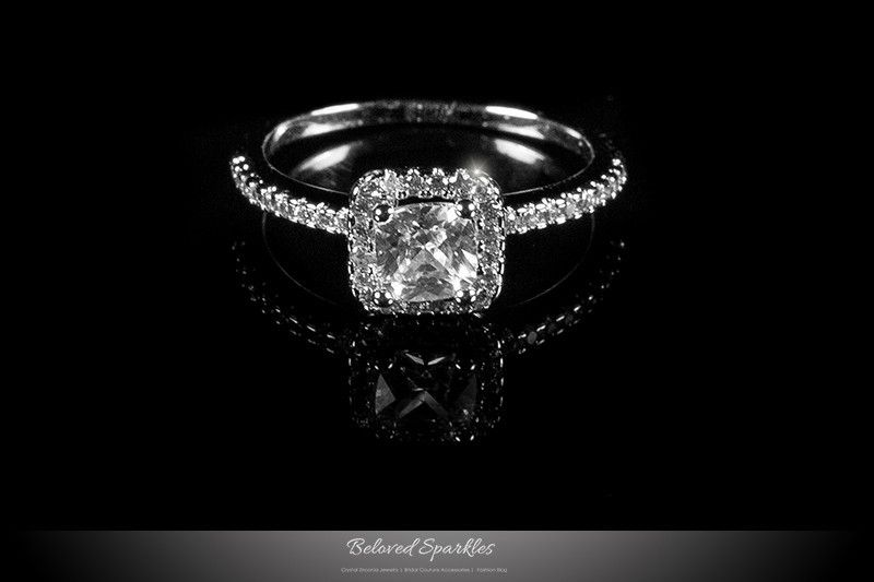 Pin On Engagement Ring Fine Cubic Zirconia