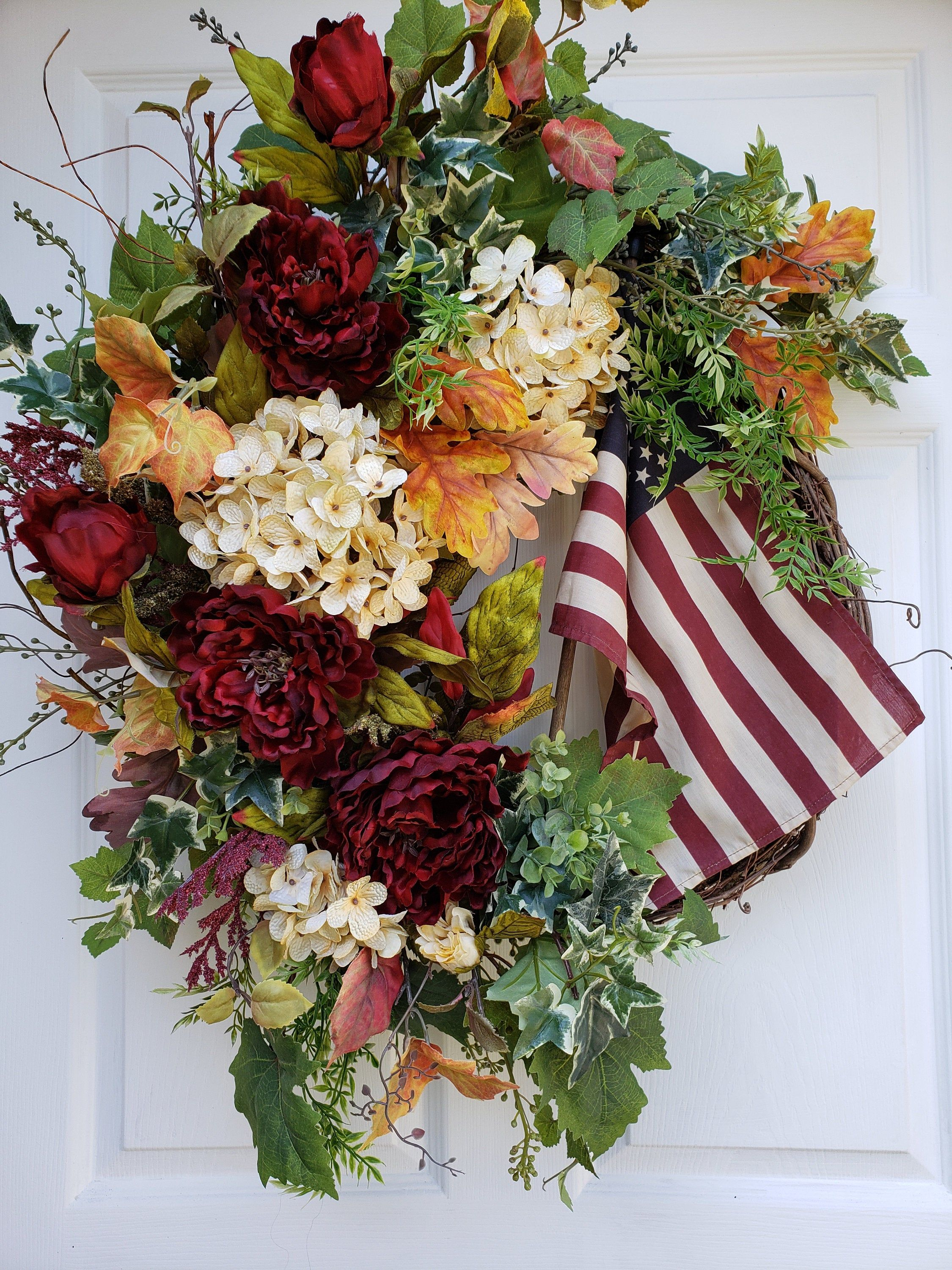 Americana WreathFourth of July WreathPatriotic Wreath