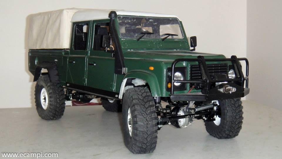 nice land rover defender 130 hicap radio controlled truck. Black Bedroom Furniture Sets. Home Design Ideas