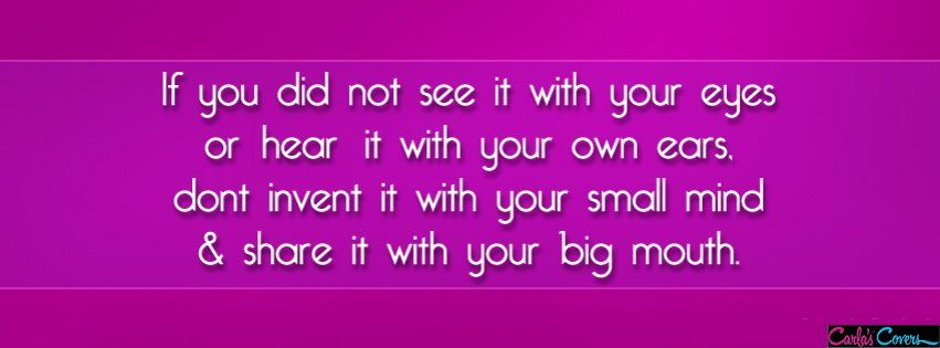 Your Big Mouth Facebook Covers